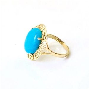 Jewelry - 14k Turquoise Ring  SALE